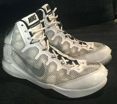 0519ddb046dfe NIKE Zoom Without a Doubt Mens Athletic Shoes White Black Size 7.5  749432-100