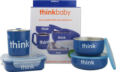 Feeding Set, Think Baby, 1 set Orange