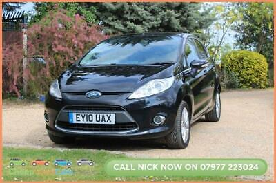 2010 10 Ford Fiesta 1.6 Titanium Tdci 5D 89 Bhp Diesel Cheap Car!