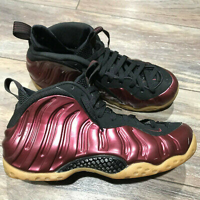 size 40 73b3c ab9f4 Nike Men Air Foamposite One Night Maroon-Black Sz 9  314996-601