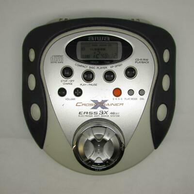 Aiwa XP-SP921 Cross Trainer Portable CD Player EASS 3X CD-R/RW PLAYBACK WORKS