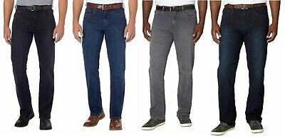 Urban Star Men's Stretch Relaxed Fit Straight Leg Jeans