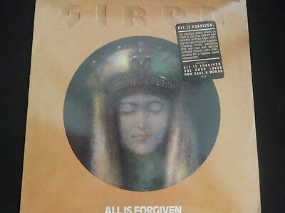 "SIREN  ""All Is Forgiven"" Original LP. 1st pressing/Promo. 1989. RARE !"