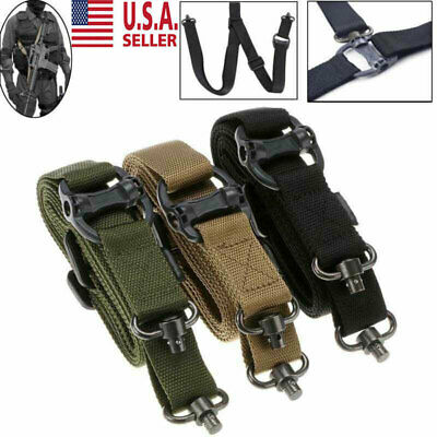 "Retro Adjust Tactical Quick Detach QD 1 or 2Point Multi Mission 1.2"" Rifle Sling"