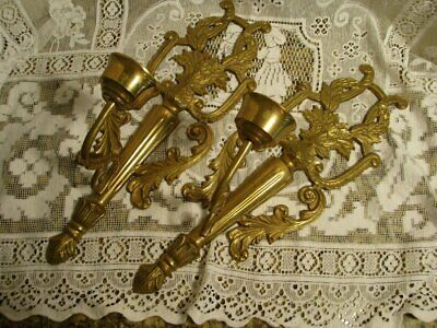 Pair of Elegant Vintage Wall Sconces