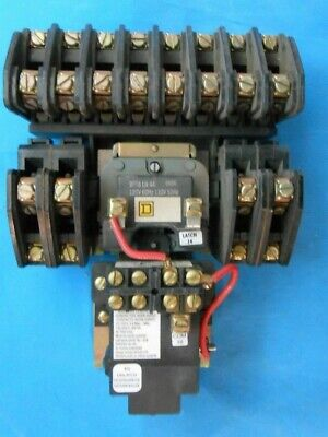 Square D 8903 Lx01200 Lighting Contactor Ser B 9906 New Surplus