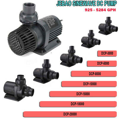 Jebao DCP Series Submersible Return Pump & Controller for Reef Tank Skimmer DCT