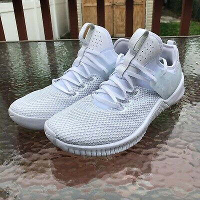 01fd649550f0d Nike Men s Free Metcon CR7 Size 12 White Pure Platinum Crossfit Shoes AO8292 -110