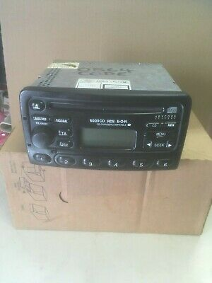 Ford 6000 Cd Rds Eon Cd Radio Supplied With  Code Ready To Fit