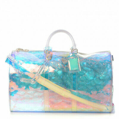 08d0317a0eea LOUIS VUITTON SATELLITE Galaxy Keepall 50 New Authentic Rare SS19 ...
