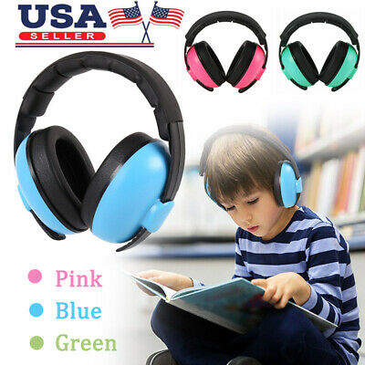 Child Baby Ear Muff Hearing Protection Kids Noise Cancelling Headphones Earmuff