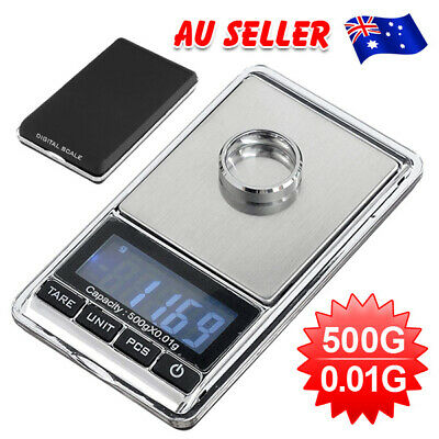500gx 0.01g Digital Scales Pocket Balance Gram LCD Jewellery Precision Weight GD