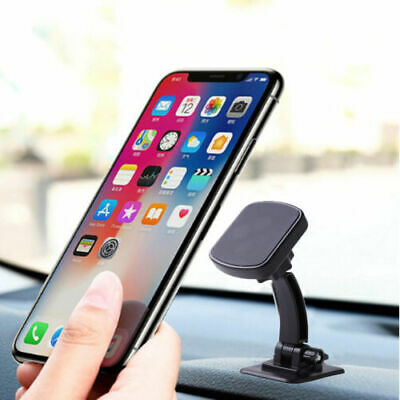 Universal In Car Magnetic Phone Holder Dashboard Mount 360° Rotary Stand GPS NAV