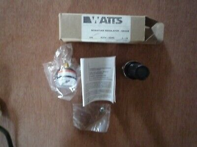 R374-02AG Parker  Watts Pneumatic Regulator 1-25 psi with gauge