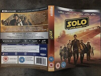 Solo A Star Wars Story - 4K UHD- INLAY / INSERT ONLY - NO DISCS!