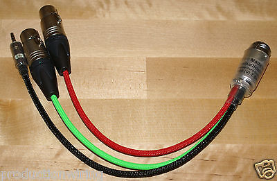 10 Pin Hirose Breakout Sound Devices 302 633 Loom Snake Cable Breakout Tails XLR
