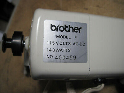 Brother Charger 666 Model F Sewing Machine Motor