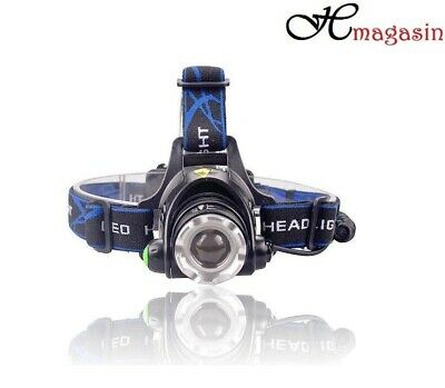 Rechargeable Tactical 30000LM T6 LED Headlamp 18650 Headlight Head Torch Lamp