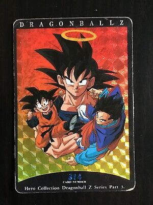 kaartspellen Carte Dragon Ball Z DBZ Hero Collection Part 3 #317 Prisme 1995 MADE IN JAPAN Verzamelingen