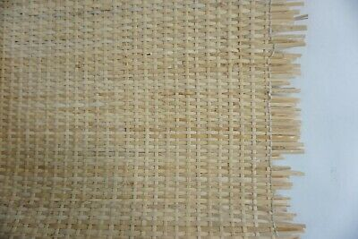 "Chair Caning Supplies 18.5"" W  Cane Webbing Mesh, 3 1/2 yards Tight Modern Weave"