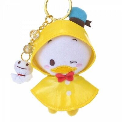 New Disney Store Japan Donald Rain Keychain with Plush from Japan F//S