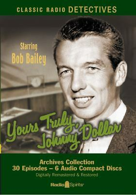 Yours Truly, Johnny Dollar [Old Time Radio]  - CD Audiobook