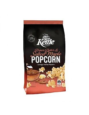 Kettle Popcorn Butter And Salt Maple 100g