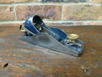 Irwin Record 09 1//2 Fully Adjustable Block Plane