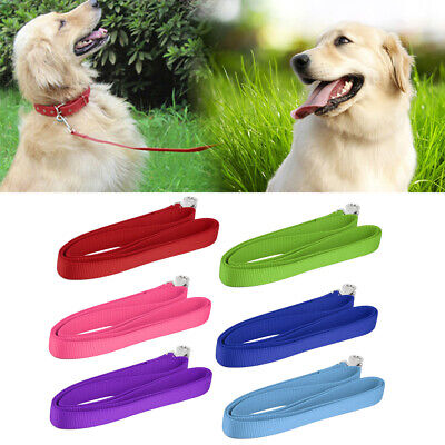 120*2cm Nylon Lead Leash Recall Pet Dog Puppy Long Training Obedience @+