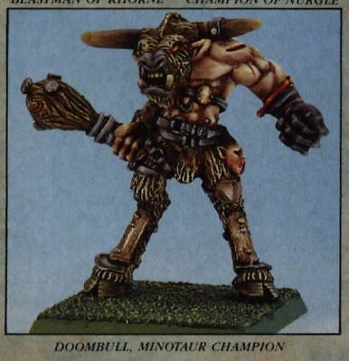 WH REALM OF CHAOS - Seigneur Minotaure - Doom Bellow The warped