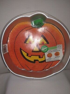 Jack O Lantern Pumpkin Halloween Minicake Cake Pan From Wilton #1449 Other Baking Accessories Kitchen, Dining & Bar Clearance