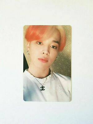 """K-POP BTS ALBUM """"MAP OF THE SOUL : PERSONA"""" Official JIMIN Photocard"""