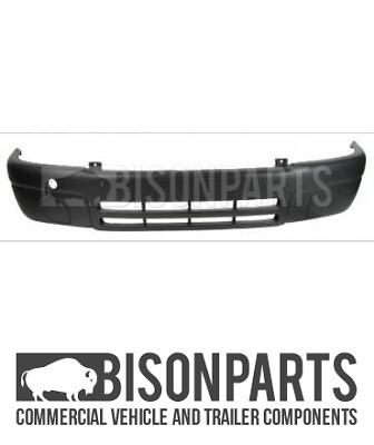 """""""Fits Vauxhall Movano (2000 - 2006) Tuv Approved Front Black Bumper Ren901Tuv"""