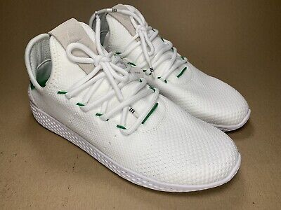 015f7314eb4f7 Adidas Pharrell Williams Tennis Hu BA7828 NEW Authentic Men Size 7 White  Green