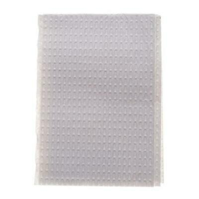 LOT OF 1000 Disposable Patient Bibs White 3Ply 18x13 Towel Tattoo Dental Medical
