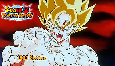 Dokkan Battle JP 1500(Android Stone account)
