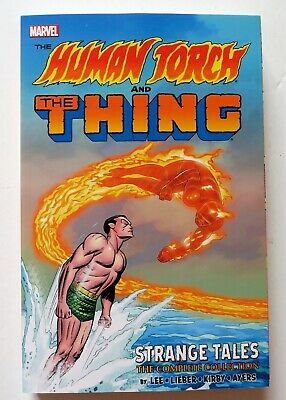 Human Torch The Thing Strange Tales Complete Collection Graphic Novel Comic Book