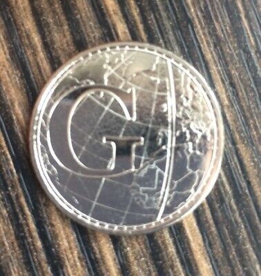 Mint Condition 2019 Alphabet 10p Letter G