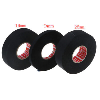 Tesa tape 51036 adhesive cloth fabric wiring loom harness 9mmx25m 19mmx25m  Yf