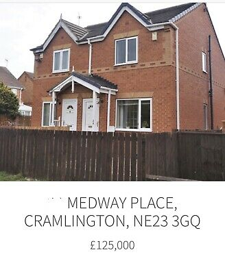 Gorgeous Semi Detatched In Sought After Location Cramlington, Northumberland