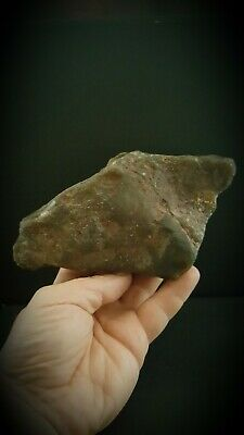 Exceptional rare uk found Upper Paleolithic/ mesolithic rock art horse
