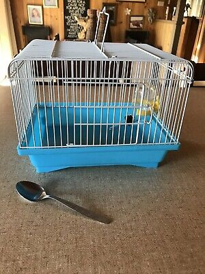 Small Animal Transport - Carry Box/ Travel Cage For Finch / Budgie / Canary