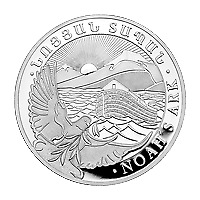 Lot of 10 x 1 oz 2019 Armenian Noah's Ark Silver Coin