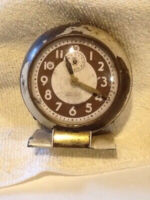 Vintage Wind Up Alarm Clock, Westclox Baby Ben, Model 61-R