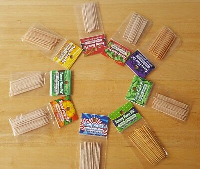 Yummy Flavored Toothpicks- 9 flavors