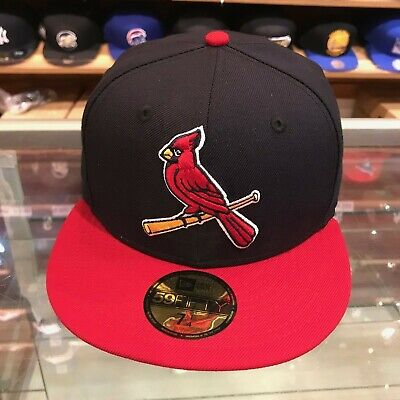 c86c91ae NEW ERA ST. Louis Cardinals ALT 2 59Fifty Fitted Hat (Navy/Red) MLB ...