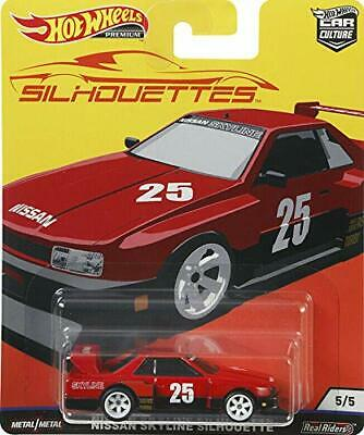 Hot Wheels 2019 Car Culture Silhouettes Skyline Super 5 of 5 1:64 Real Riders