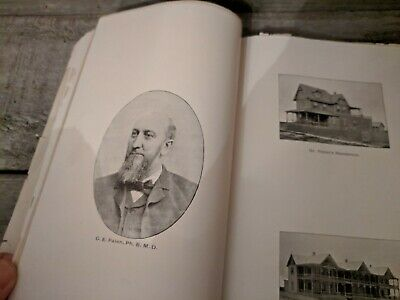 Antique Ocean City New Jersey Guide Book and Directory 1893 OCNJ