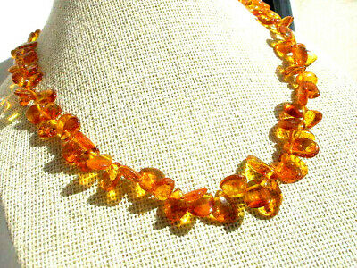REAL BALTIC AMBER  LADIES' NECKLACE 50 cm!