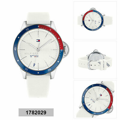 419931f354e8b2 TOMMY HILFIGER WOMEN'S 1781271 Stainless Steel Watch with White ...